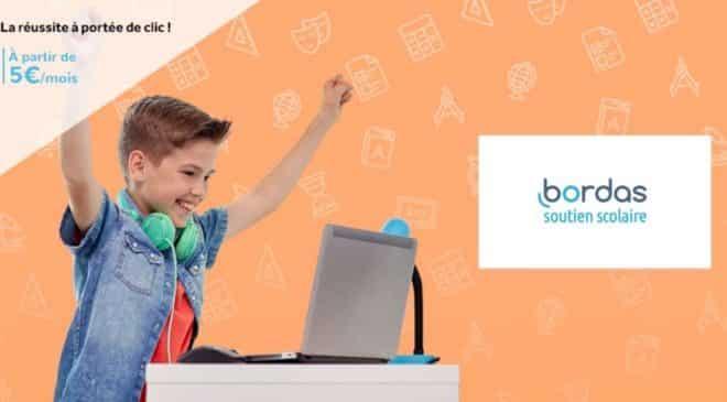 Offre speciale abonnement soutien scolaire Bordas moitié prix