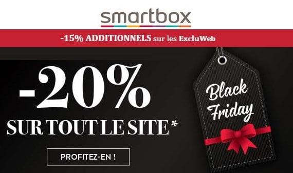 Pour Le Black Friday Smartbox Profitez De 15% De Remise Supplémentaire