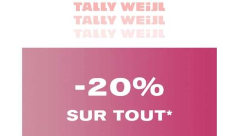 Pré-Black Friday de Tally Weijl