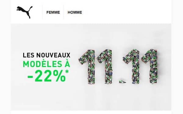 Single's Day Puma 22% De Remise Sur Les Nouveaux Modèles