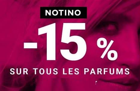 Single's Day Notino 15% de remise sur tous les parfums