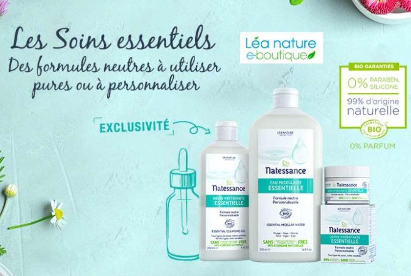Vente privée de bon d'achat Lea Nature moitié prix