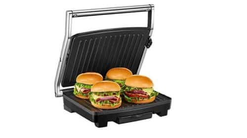 appareil multifonction Deik 1500W croque monsieur - paninis - sandwichs..