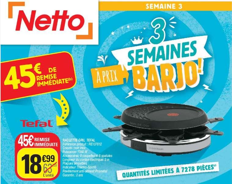 appareil raclette - gril - crêpe 8 personnes Tefal