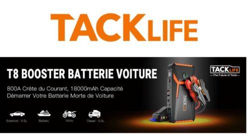 booster de batterie ultra puissant TACKLIFE T8