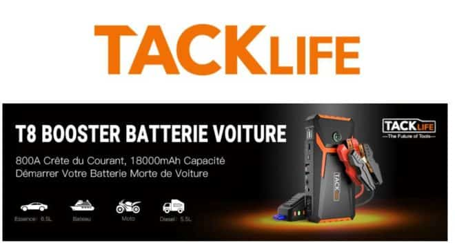 booster de batterie ultra puissant TACKLIFE T8