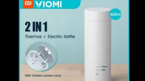 bouteille bouilloire thermos électrique acier 400ml Xiaomi VIOMI