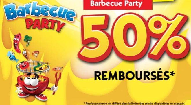 jeu Barbecue Party Goliath 50% remboursé