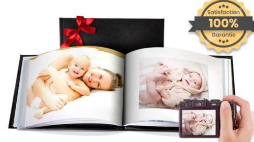 Le Livre Photo Couverture Cuir De 20 Pages
