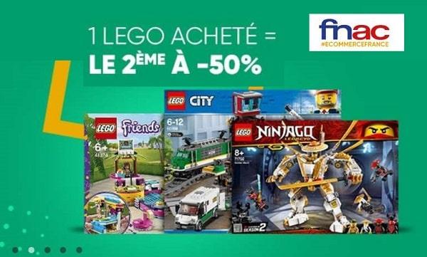 1 Boite De Lego Achetée Sur La Fnac = 50% Sur La Seconde
