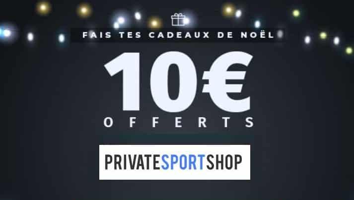 10€ De Remise Sur Private Sport Shop Dès 100€ D'achat