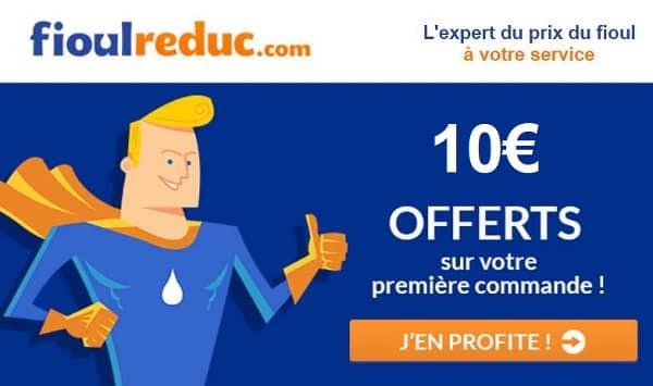 10€ De Remise Sur Votre Commande De Fioul Sur Fioulreduc