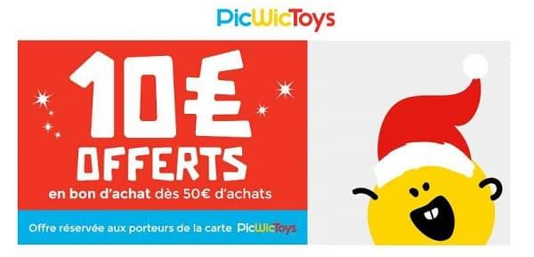 10€ Offerts Sur Picwictoys Dès 50€ D'achat