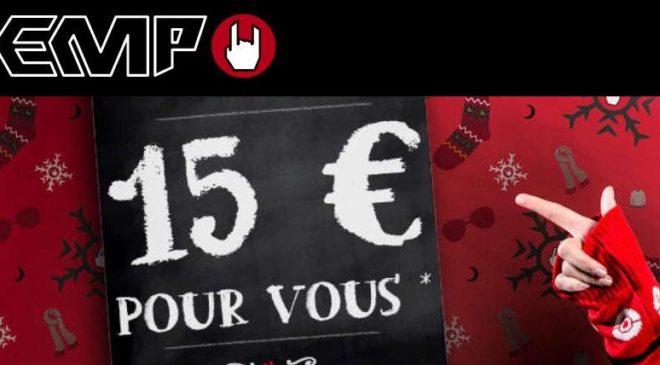 15€ de réduction sur EMP