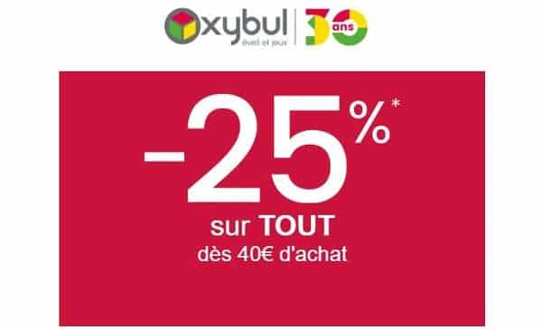 25% De Remise Sur Oxybul Dés 40€ D'achat