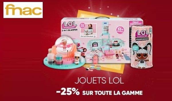 25% De Remise Sur Toute La Gamme De Jouets L.o.l Surprise