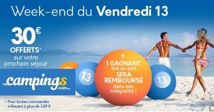 30€ De Remise Sur Les Séjours En Camping En 2020