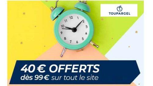 40€ De Reduction Sur Votre Commande Toupargel