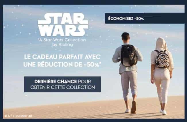 50% De Remise Sur Les Sacs & Accessoires Star Wars De Kipling