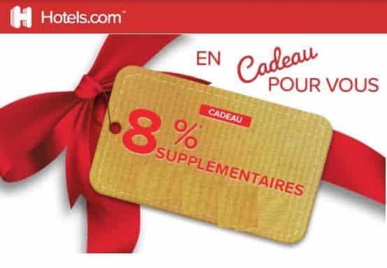8% De Remise Sur Votre Réservation Sur Le Site Hotels