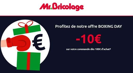 Boxing Day De Mr Bricolage