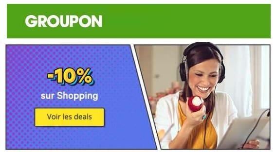 Code Promo 10% De Remise Sur Le Shopping Groupon