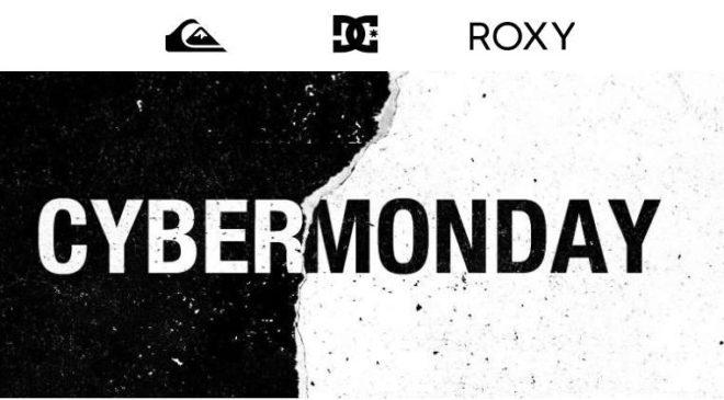 Cyber Monday Quiksilver, Roxy et Dc Shoes