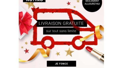 Livraison Gratuite Sur Toutes Les Commandes De La Parfumerie Notino