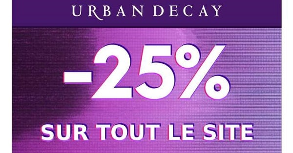 Offre Flash Urban Decay