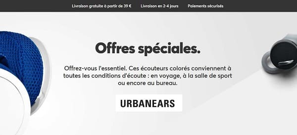 Offres Spéciales Urbanears