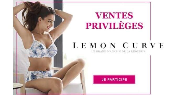 Vente Privilège Lemon Curve