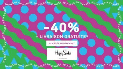 Vente Privée Happy Socks Remise Sur Tout Pour Les Pré Soldes