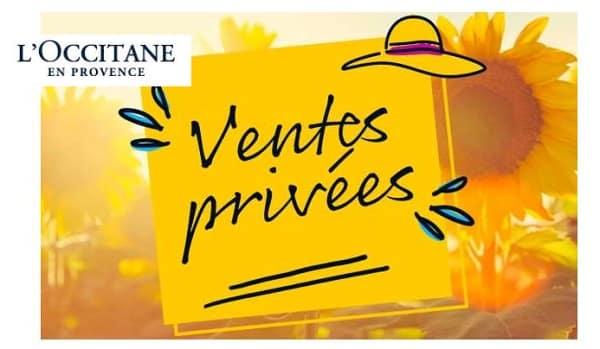 Ventes Privées L'occitane En Provence