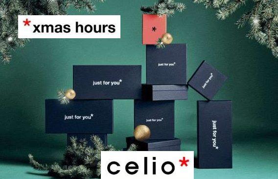 Xmas Hours Celio 30% De Remise Sur Tout