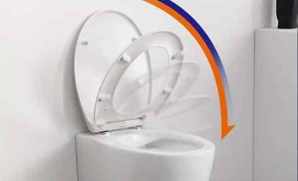 abattant de wc avec descente lente homelody forme o