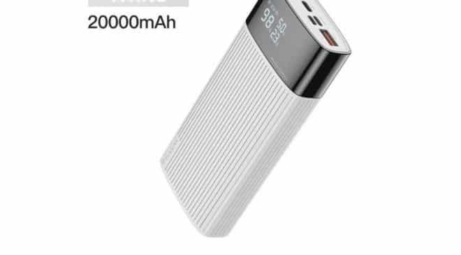 Batterie Externe 20000 Mah Kuulaa (usb, Usb C, Micro Usb, Lightning) Affichage Digital