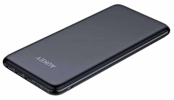 Batterie Externe Slim 20 000 Mah Usb C Aukey