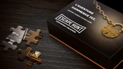 Coffrets Cadeaux Escape Hunt Code Promo Livraison Gratuite