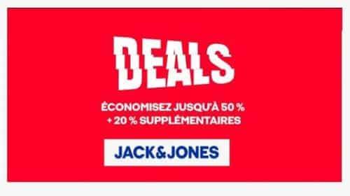 Jusqu'à 50% Sur Jack & Jones + 20% De Remise Supplémentaire