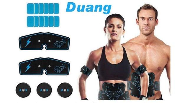 kit électro stimulateur musculaire 6 modes duang