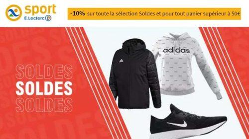 10% De Remise Supplémentaire Sur Les Soldes E Leclerc Sport
