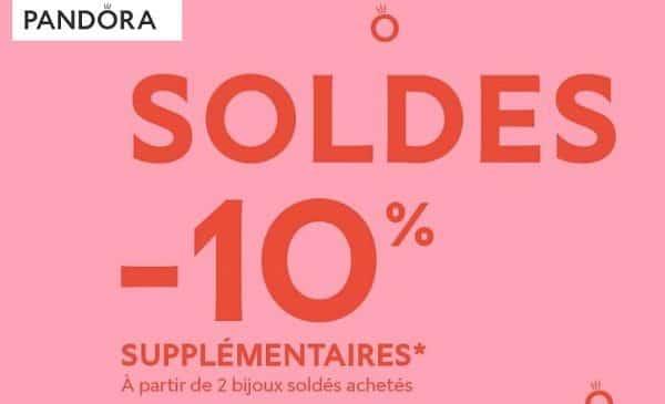 10% De Remise Supplémentaire Sur Les Soldes Pandora