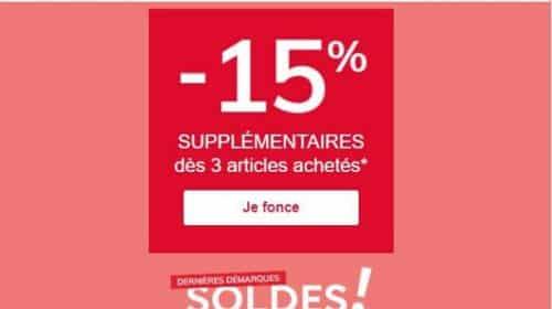 15% De Remise En Plus Sur La Dernière Démarque De Vert Baudet Dès 3 Articles