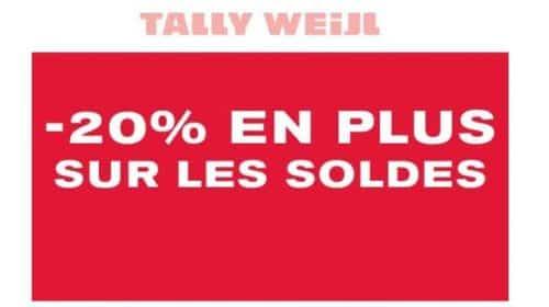 20% De Remise Supplémentaire Sur Les Soldes Tally Weijl
