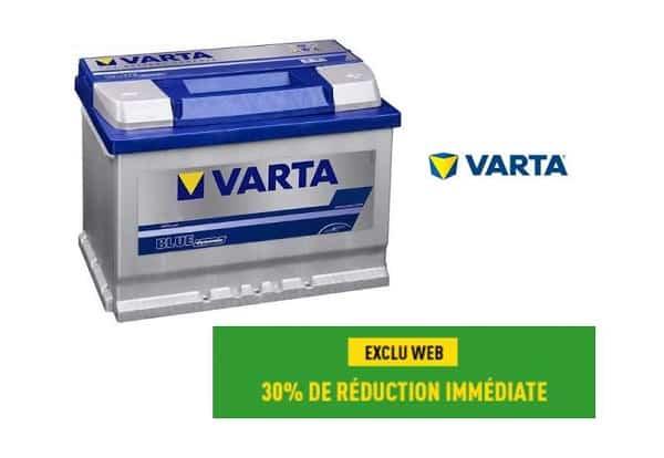 30% De Remise Immédiate Sur Les Batterie Varta Sur Feu Vert