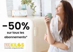 50% de remise sur la méthode programme minceur Croq'Kilos !