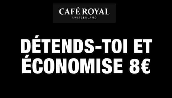 8€ De Remise Et Livraison Gratuite Sur Vos Commandes Café Royal