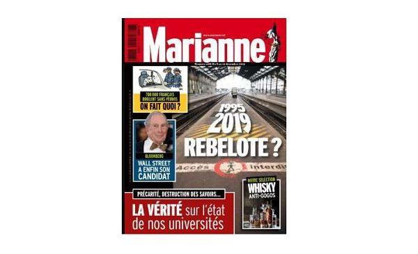 Abonnement Marianne pas cher : moins de 40€ les 26N° au lieu de plus de 100€