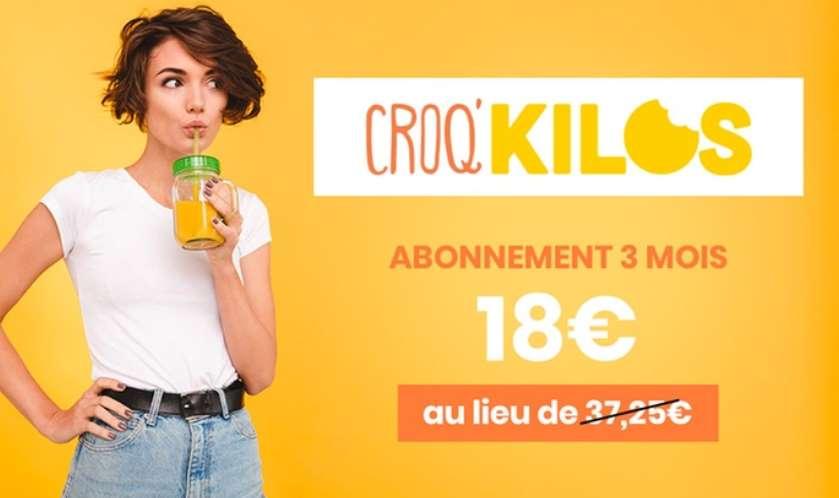 Abonnement Programme Minceur Croq'kilos By M6 à 50%