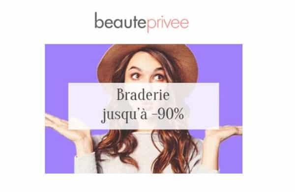 Braderie Sur Beautéprivée Fortes Remises Sur Des Dizaines De Produits Cosmétiques, Maquillages Et Parfums